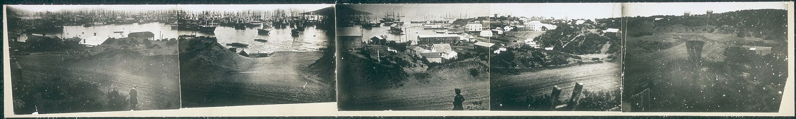 1851 view of San Francisco