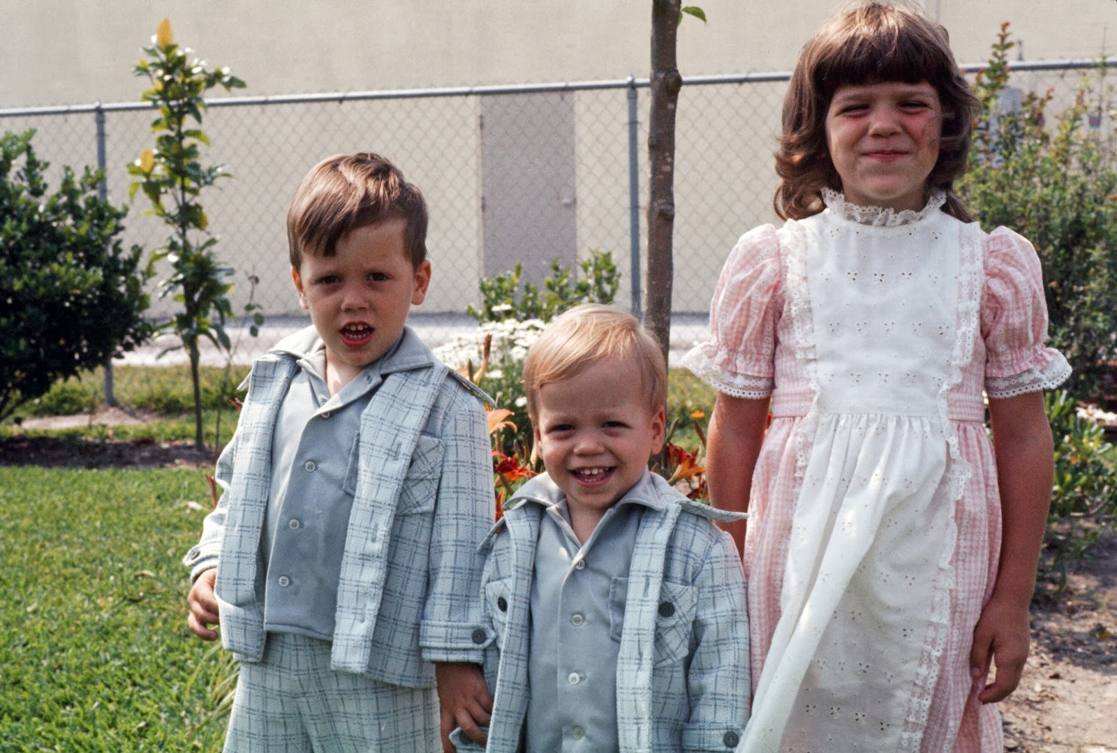 Leslie McMillan's Children About 40 Years Ago