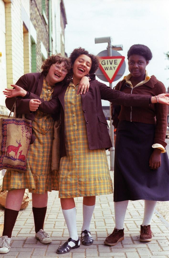 County School Girls - Original