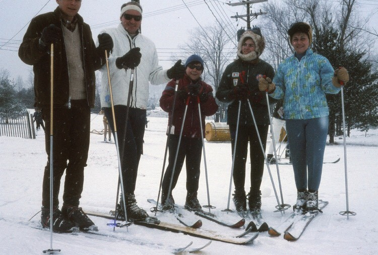 My hometown was host to a popular ski area called Scotch Valley