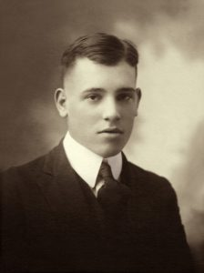 Charles's graduation in 1922