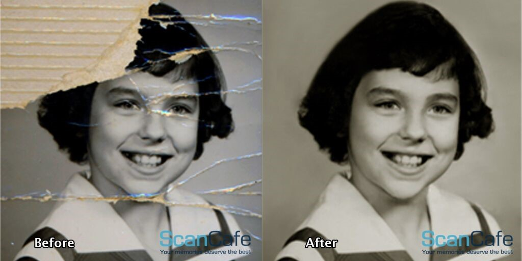 Photo Scanning Before and After by ScanCafe
