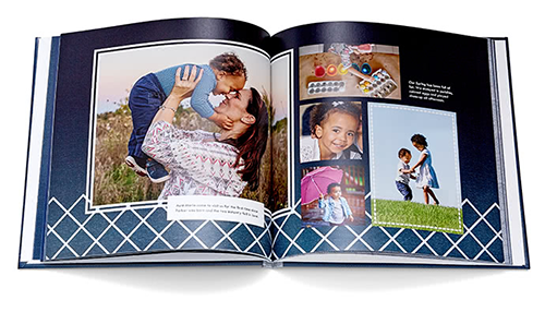 Photo Book Fully Designed by Shutterfly