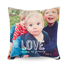 Kids photo on Pillow