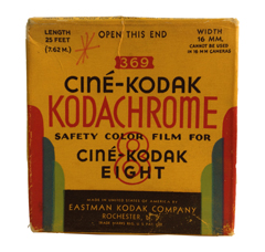A Classic Regular 8mm Movie Film Box from the 1940s